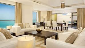 Hochwertige Bettwaren, Select-Comfort-Betten, Minibar, Zimmersafe
