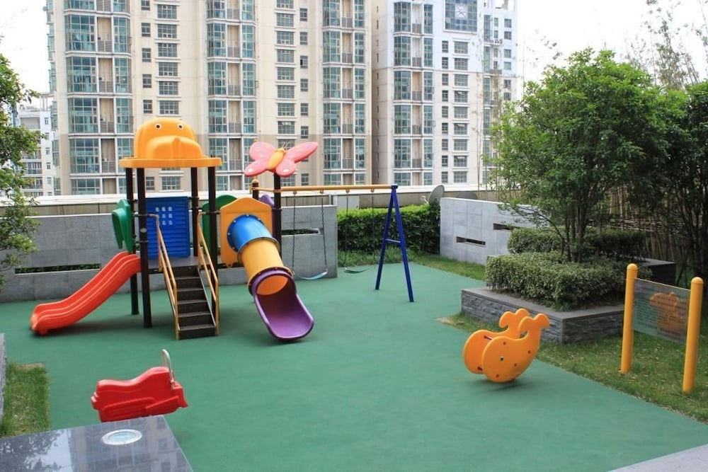 Children's Play Area - Outdoor, Fraser Suites Suzhou