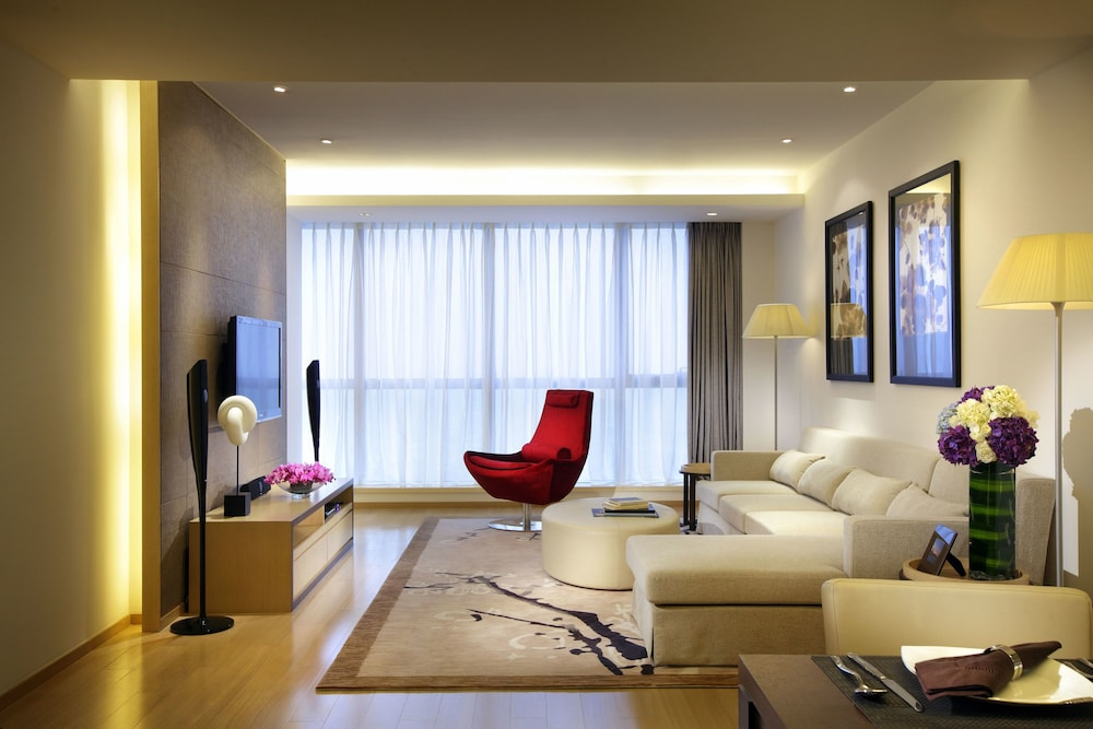 Living Area, Fraser Suites Suzhou