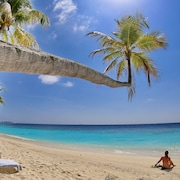 Uitzicht op strand/zee
