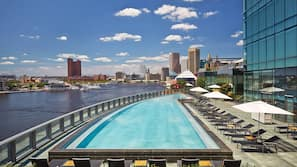 Seasonal outdoor pool, open 7 AM to 8 PM, cabanas (surcharge)