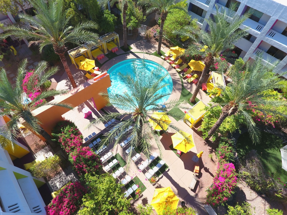 Aerial View, The Saguaro Scottsdale