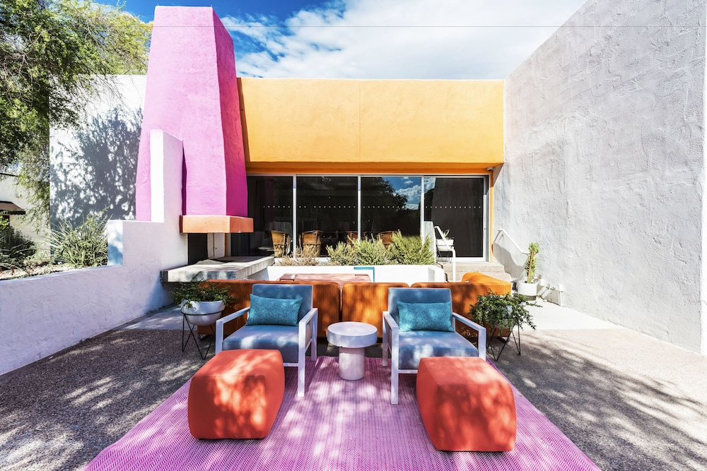 Terrace/Patio, The Saguaro Scottsdale