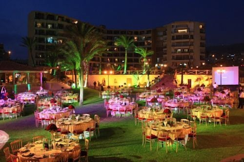 Outdoor Banquet Area, Sawary Resort and Hotel