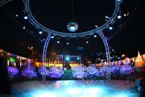 Outdoor Wedding Area, Sawary Resort and Hotel