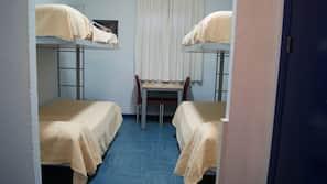Desk, blackout curtains, cots/infant beds, rollaway beds