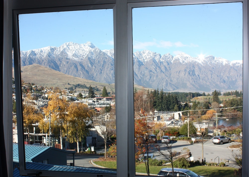 View from Room, Queenstown Lakeview Holiday Park