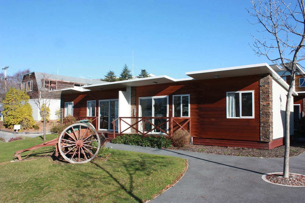 Property Entrance, Queenstown Lakeview Holiday Park