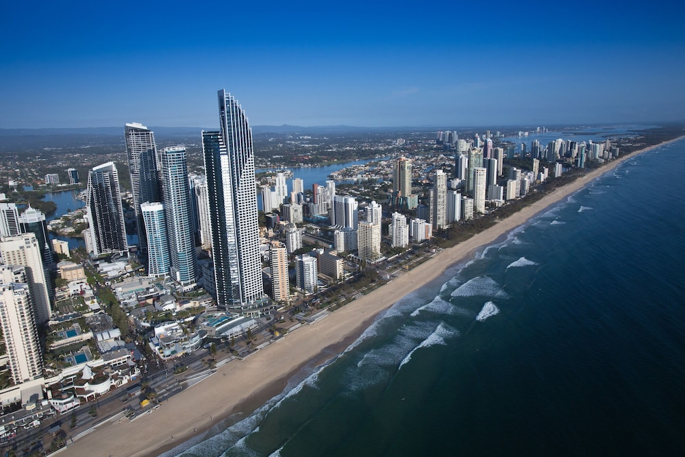 Aerial View, Peppers Soul Surfers Paradise