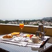 Uitzicht vanaf kamer