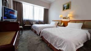 Pillow-top beds, minibar, individually decorated, desk