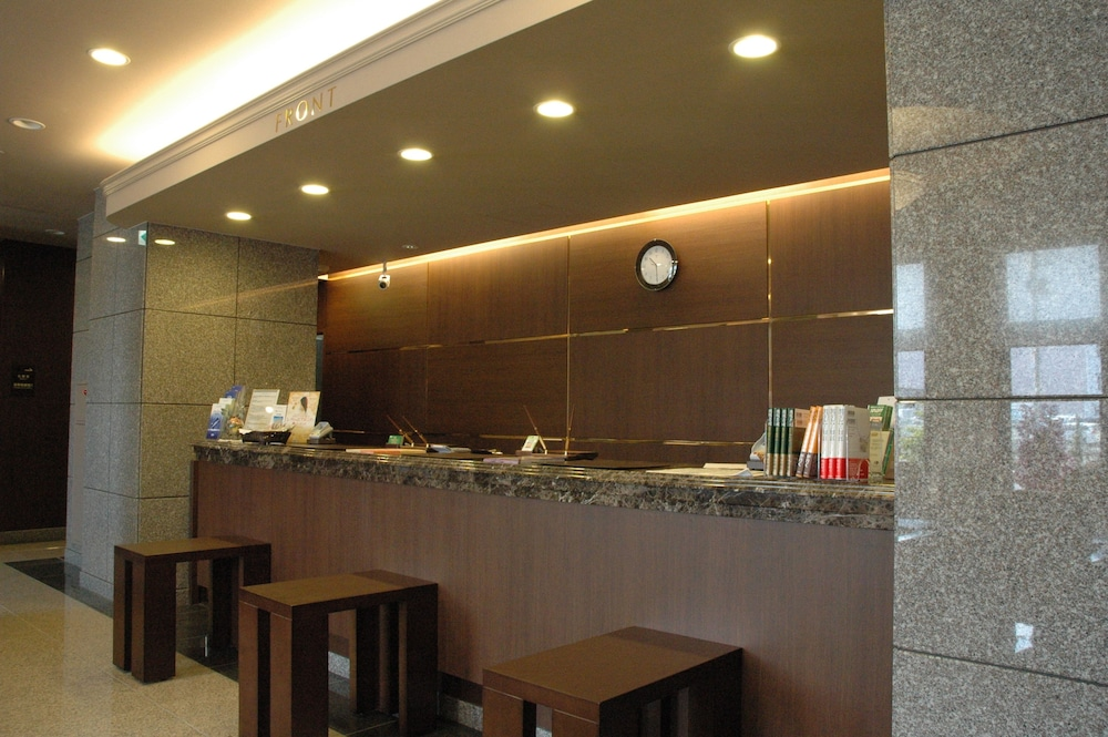 Reception, Hotel Route-Inn Hirosaki-Joto