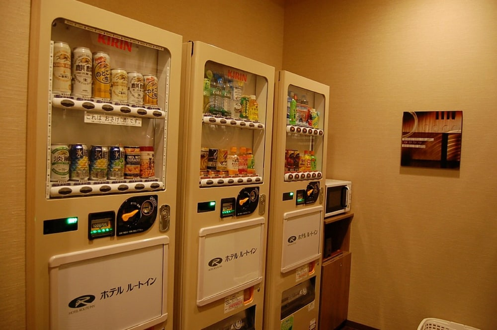 Vending Machine, Hotel Route-Inn Hirosaki-Joto