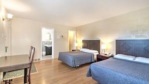 1 bedroom, desk, blackout drapes, rollaway beds