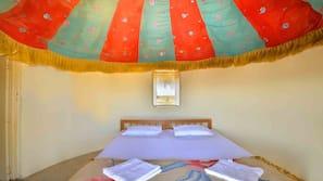 Premium bedding, desk, iron/ironing board