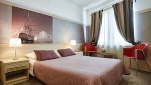 Pillow-top beds, minibar, in-room safe, individually decorated