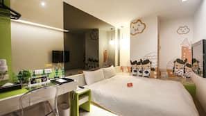 1 개의 침실, 고급 침구, 오리/거위털 이불, 무료 미니바