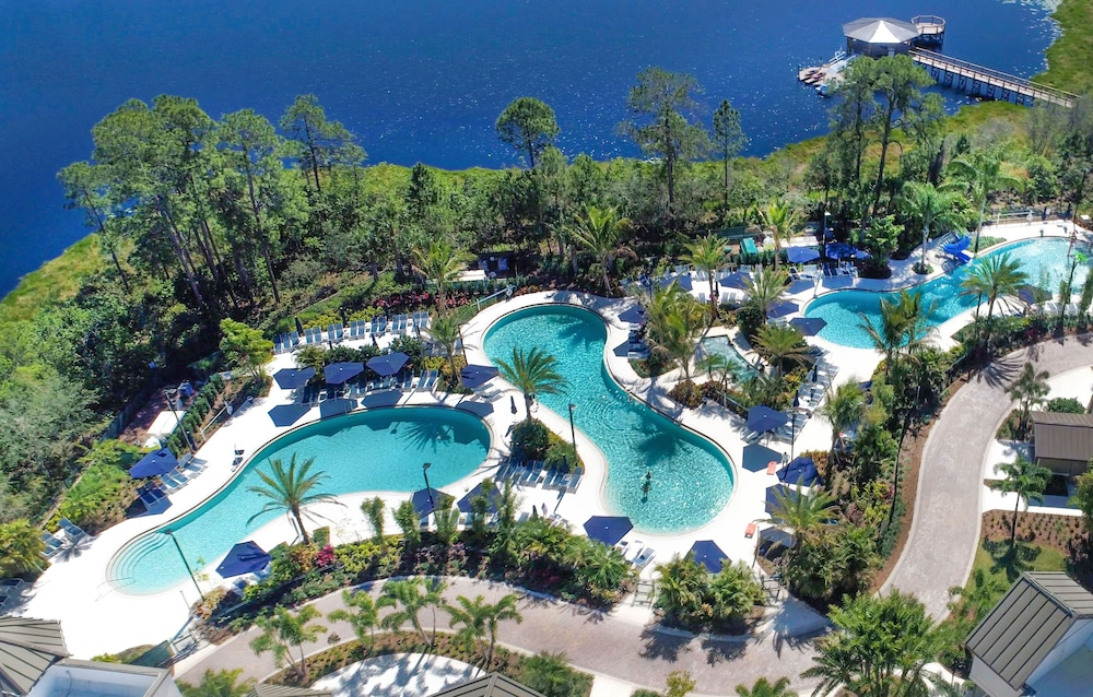 Aerial View, The Grove Resort & Water Park Orlando