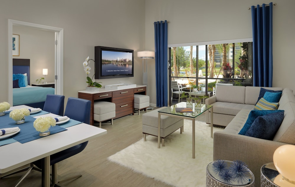 Living Area, The Grove Resort & Water Park Orlando