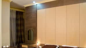 In-room safe, desk, soundproofing, rollaway beds