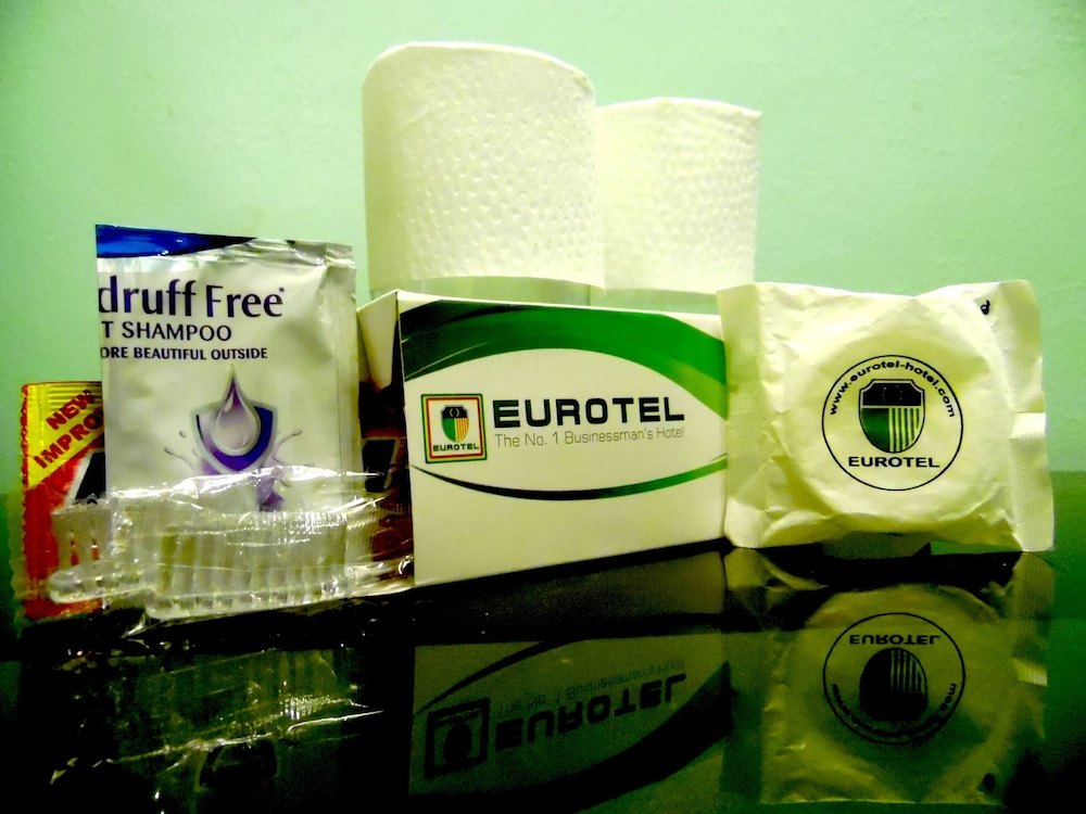 Bathroom Amenities, Eurotel Las Pinas