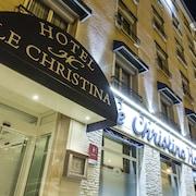 Façade de l'hôtel - Soir/Nuit