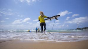 Beach nearby, snorkeling, beach volleyball, surfing
