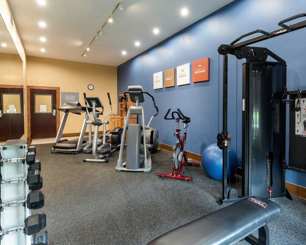 Fitness Facility, Comfort Suites at Katy Mills