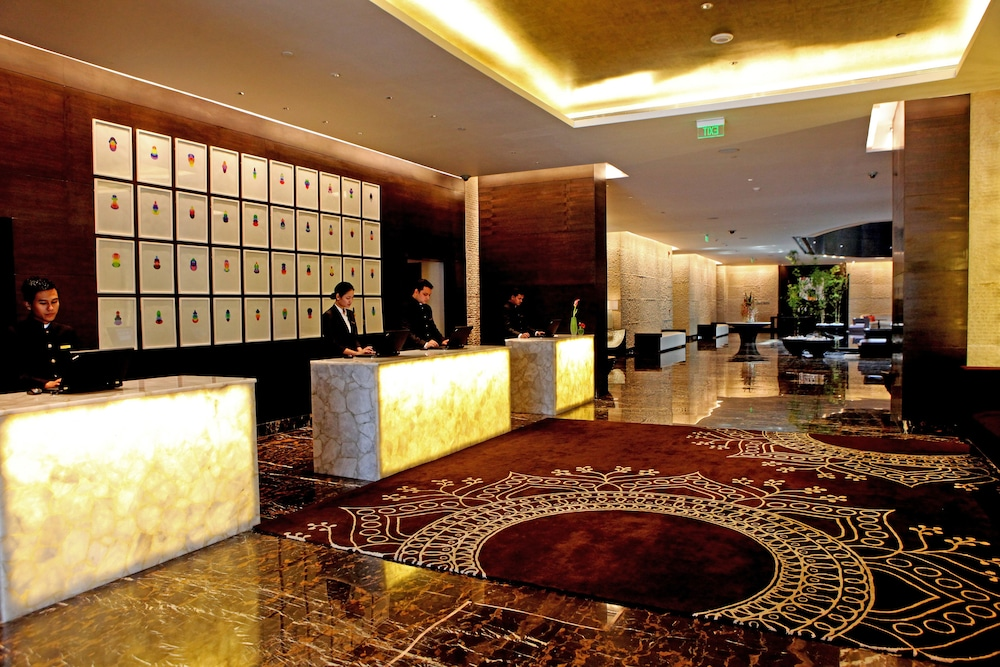 Reception, Park Hyatt Hyderabad