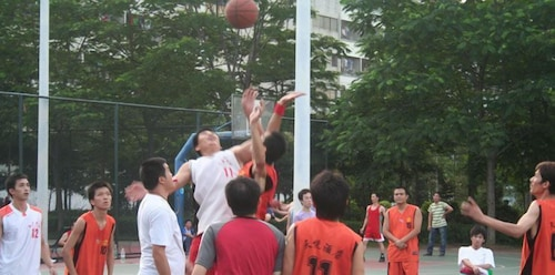 Basketball Court, Dongguan Delight Empire Hotel