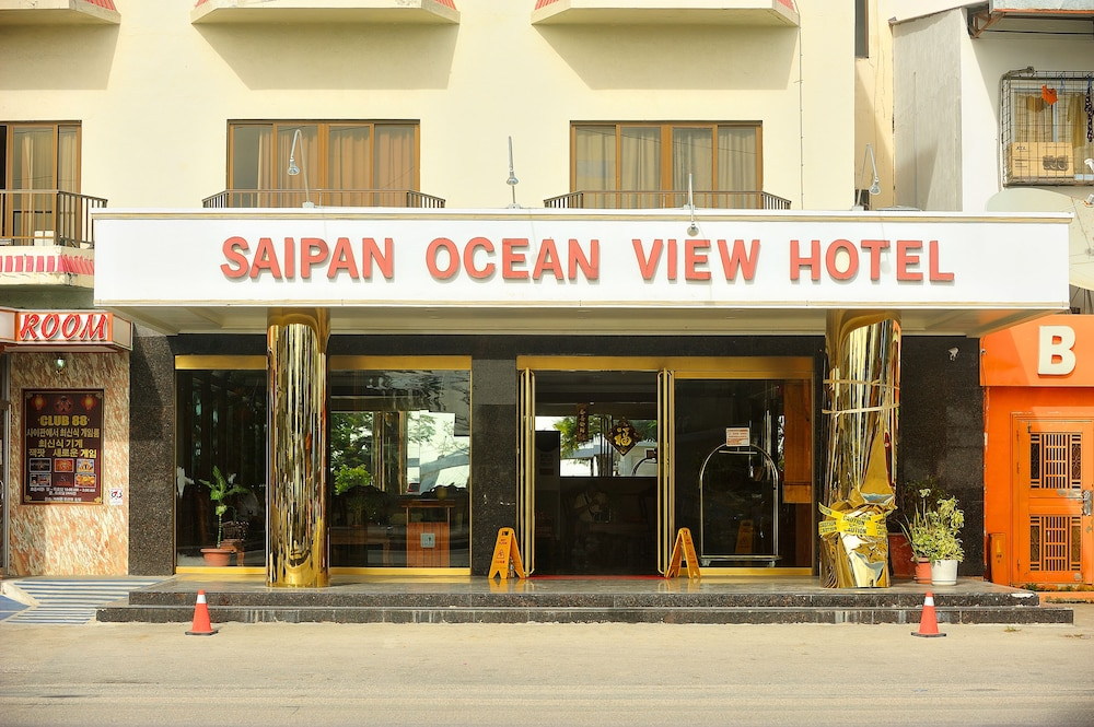 Front of Property, Saipan Ocean View Hotel