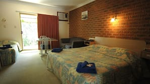 Iron/ironing board, cots/infant beds, free WiFi, bed sheets