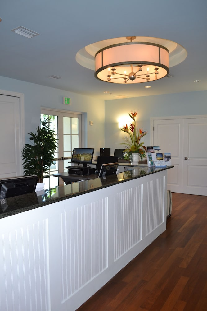 Check-in/Check-out Kiosk, Harborside Suites at Little Harbor
