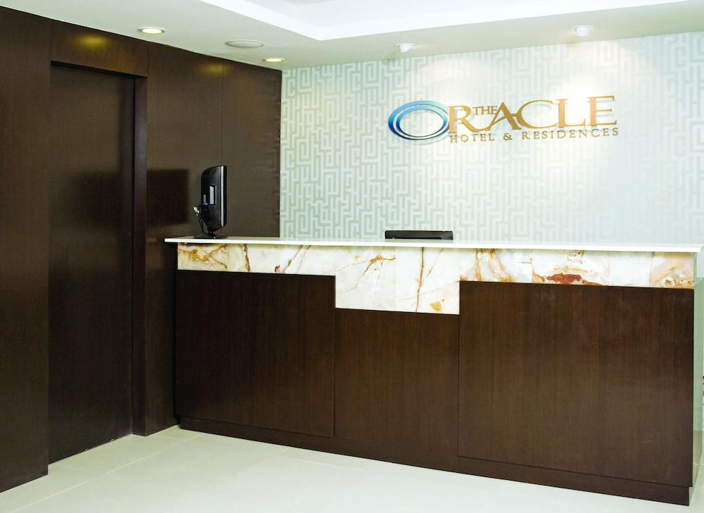 Reception, Oracle Hotel and Residences