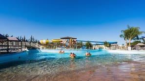 2 indoor pools, 15 outdoor pools, pool umbrellas, pool loungers