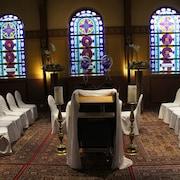 Huwelijksruimte binnen