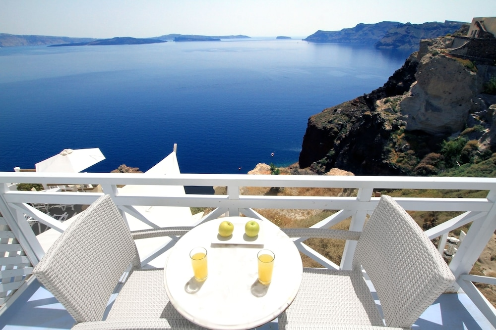Balcony, Caldera Premium Villas-Adults Only
