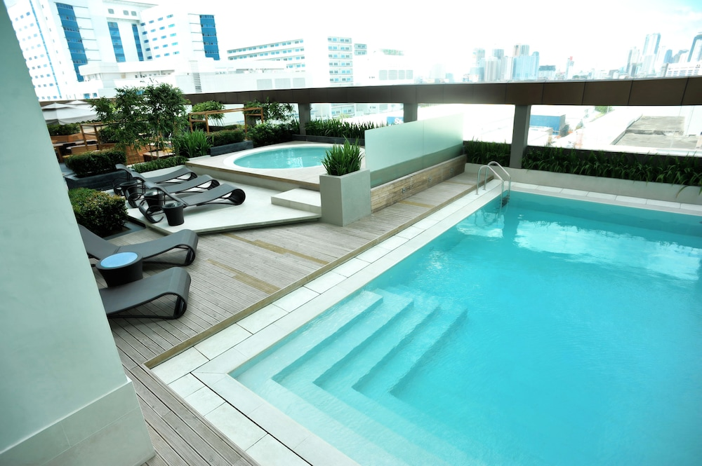 Outdoor Pool, F1 Hotel Manila