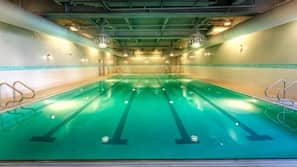 2 indoor pools