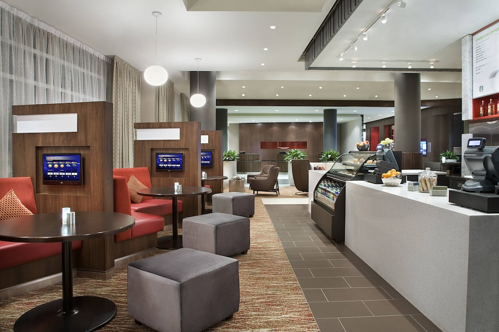 Restaurant, Courtyard by Marriott Calgary Airport