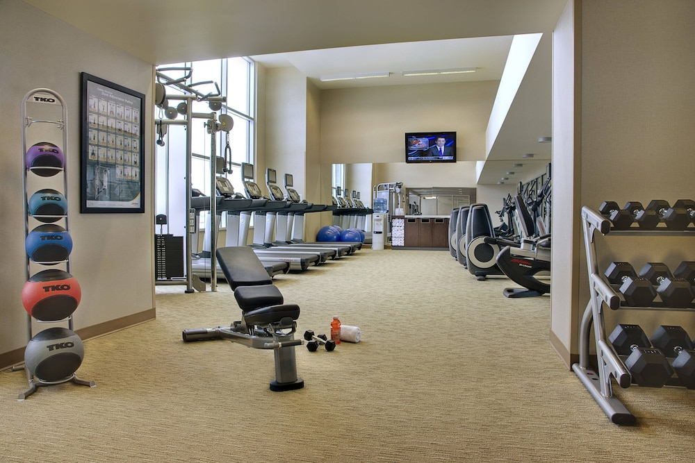Fitness Facility, Courtyard by Marriott Calgary Airport