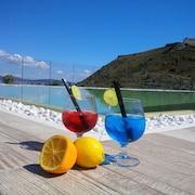 Bar a bordo piscina