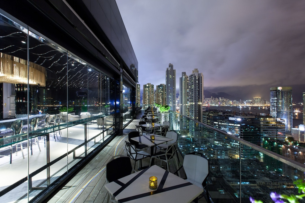 Outdoor Dining, Rosedale Hotel Kowloon