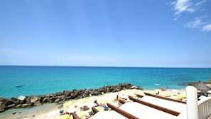 Sulla spiaggia, sabbia bianca, snorkeling, kayak