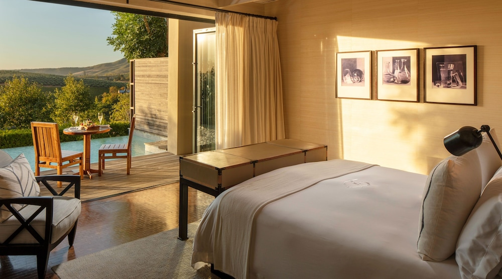 Room, Delaire Graff Lodges & Spa