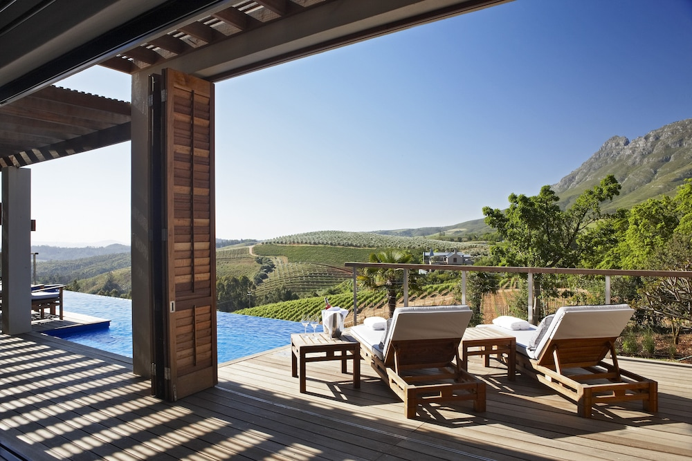 Terrace/Patio, Delaire Graff Lodges & Spa