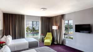 Premium bedding, pillowtop beds, minibar, in-room safe
