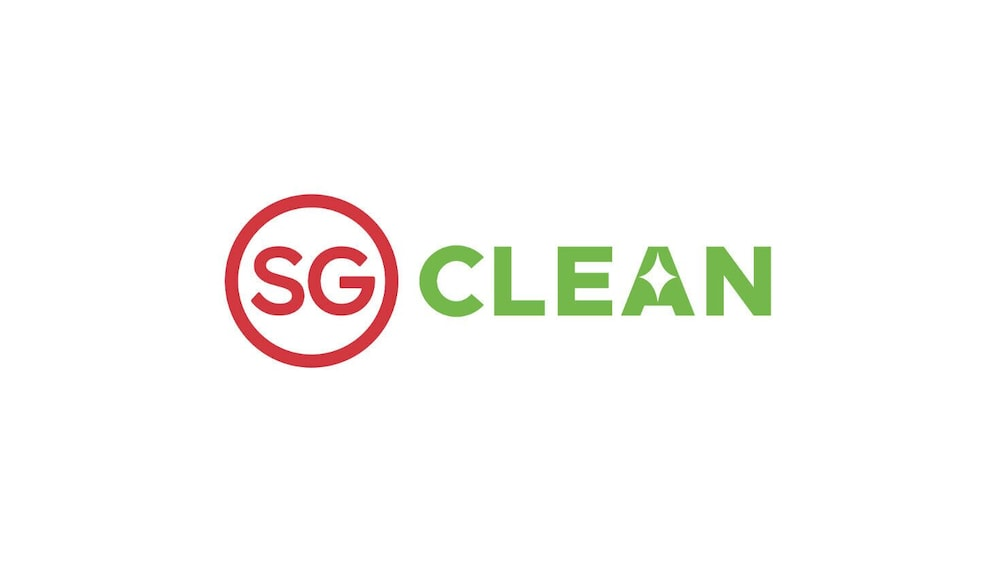 Cleanliness badge, Sandpiper Hotel (SG Clean)