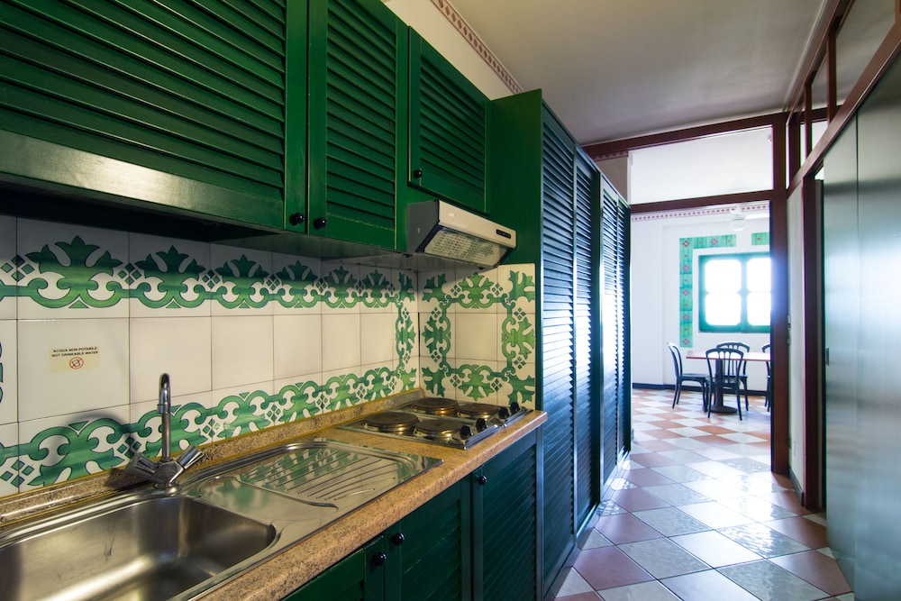 Private Kitchenette, Calampiso San Vito Lo Capo Resort