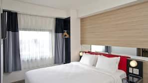 Down duvet, in-room safe, desk, blackout curtains